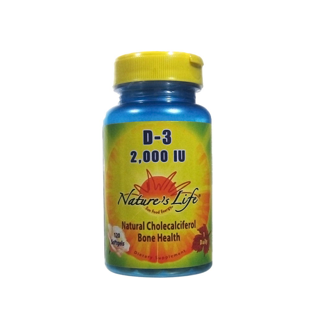 Nature's Life Vitamin D-3 2000 IU