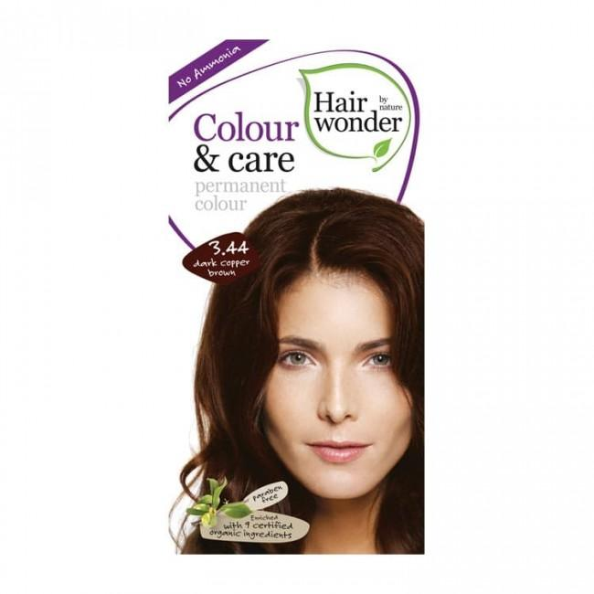 Hairwonder Color & Care 3.44 Dark Copper Brown (1582386380863)