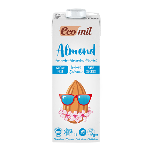 Ecomil Sugar Free Almond Milk with Calcium