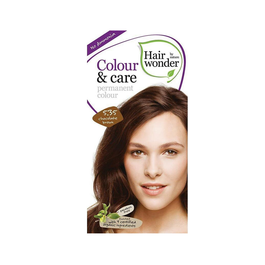 Hairwonder Color & Care 5.35 Chocolate Brown