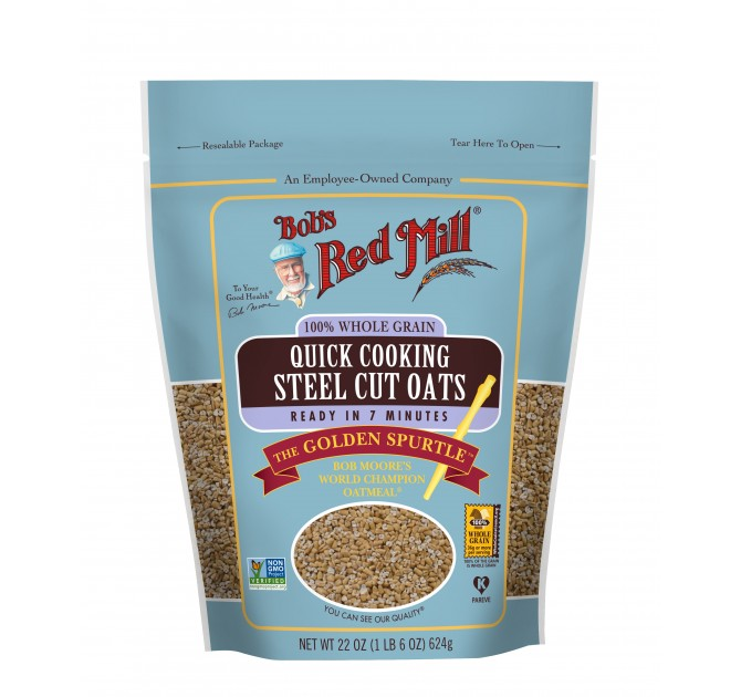 Bob's Red Mill Quick Cooking Steel Cut Oats (1748944683071)