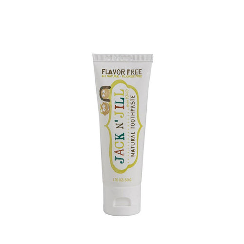 Jack N' Jill Natural Toothpaste - Flavour Free