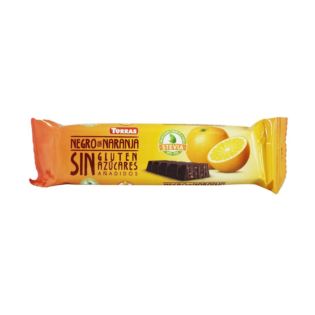 Torras Stevia Dark Chocolate with Orange (1616948199487)