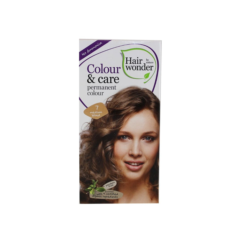 Hairwonder Colour & Care 7 Medium Blond