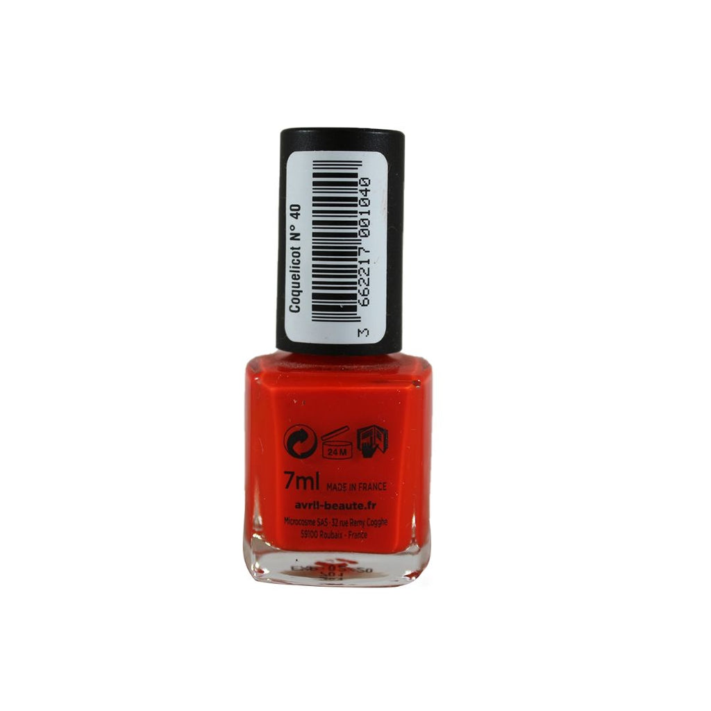 Avril Nail Polish Coquelicot N. 40