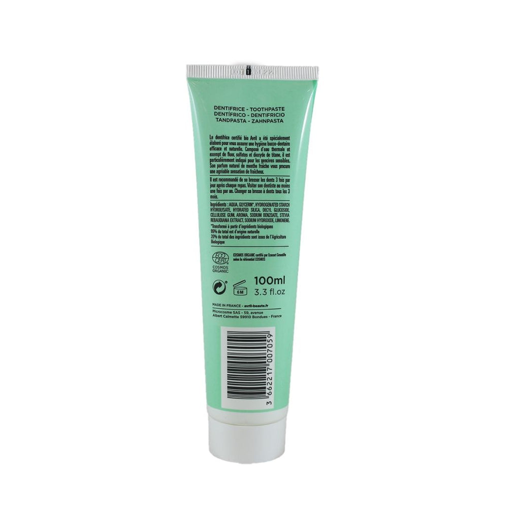 Avril Toothpaste with Mint (1689804898367)