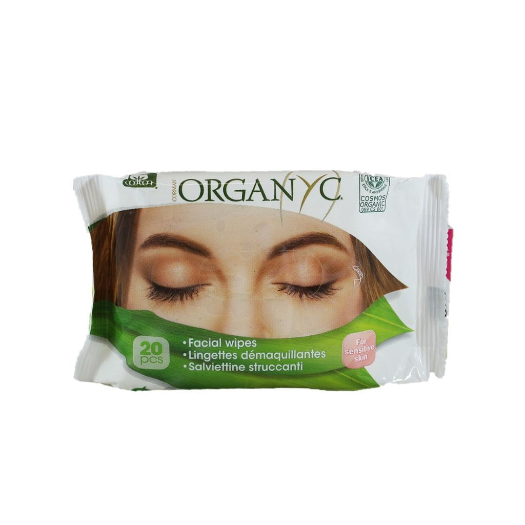 Organyc Facial Wipes