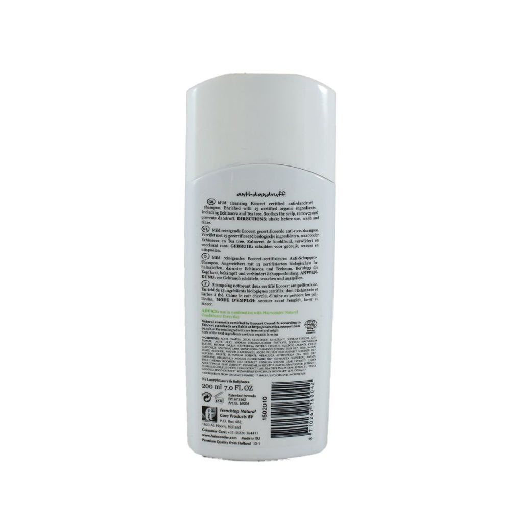Hairwonder Natural Shampoo Anti-Dandruff (1582387036223)