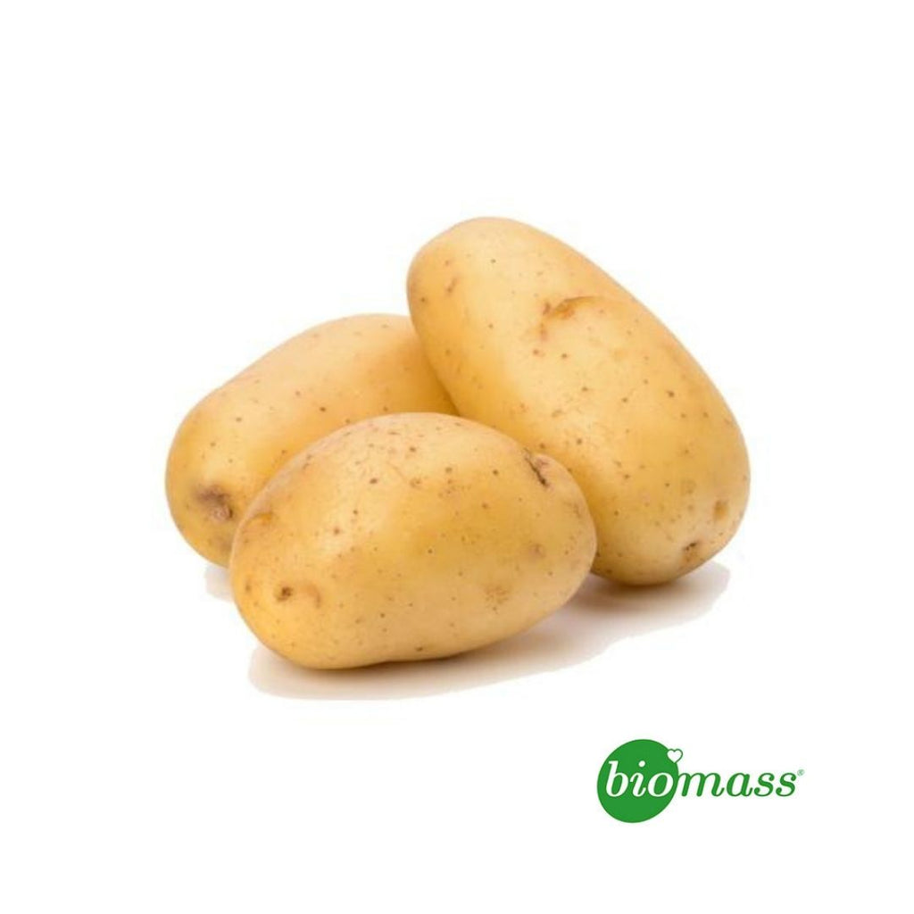 Biomass Organic Potatoes