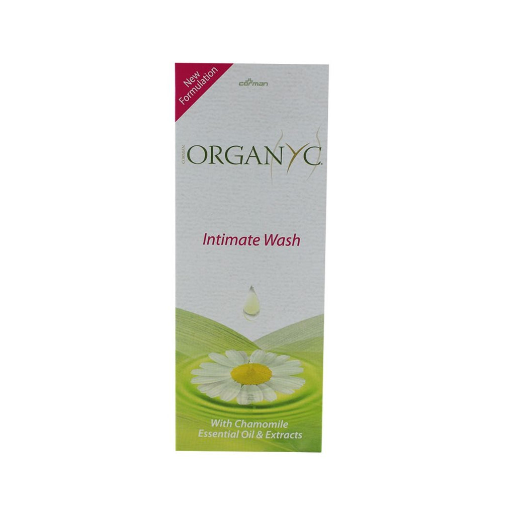 Organyc Intimate Wash with Chamomile (1397339357247)