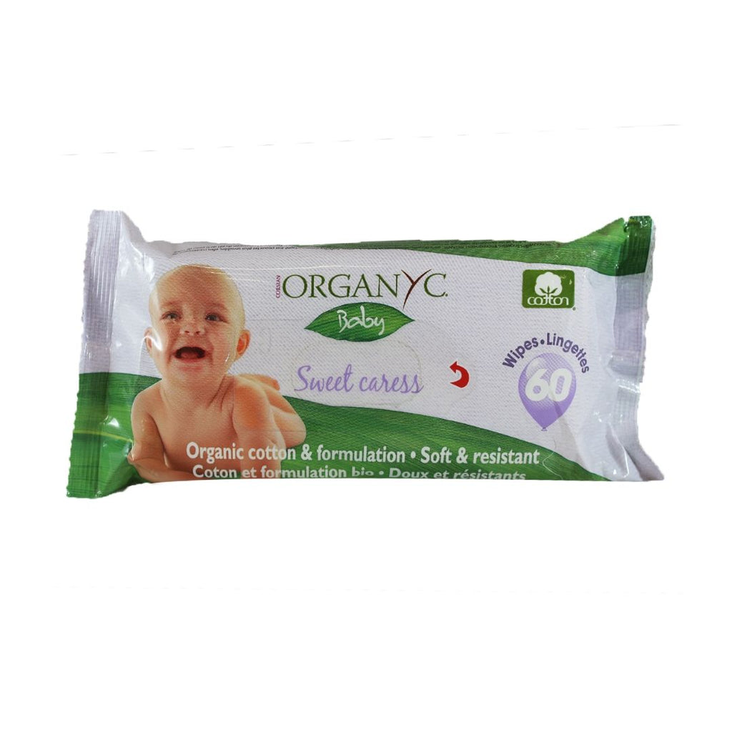 Organyc Baby Cotton Wipes (1397323071551)