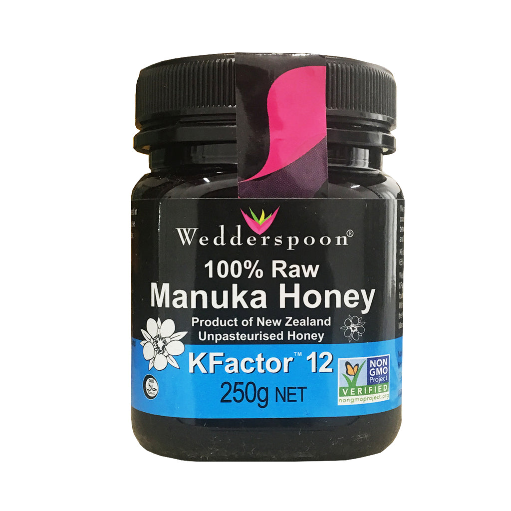 Wedderspoon Manuka Multifloral KFactor 12 Honey