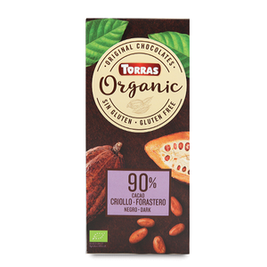 Torras Organic Dark Chocolate - 90% Cacao