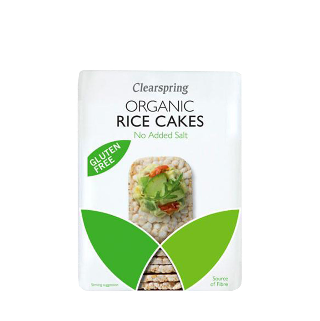 Clearspring Organic Rice Cakes - No Added Salt