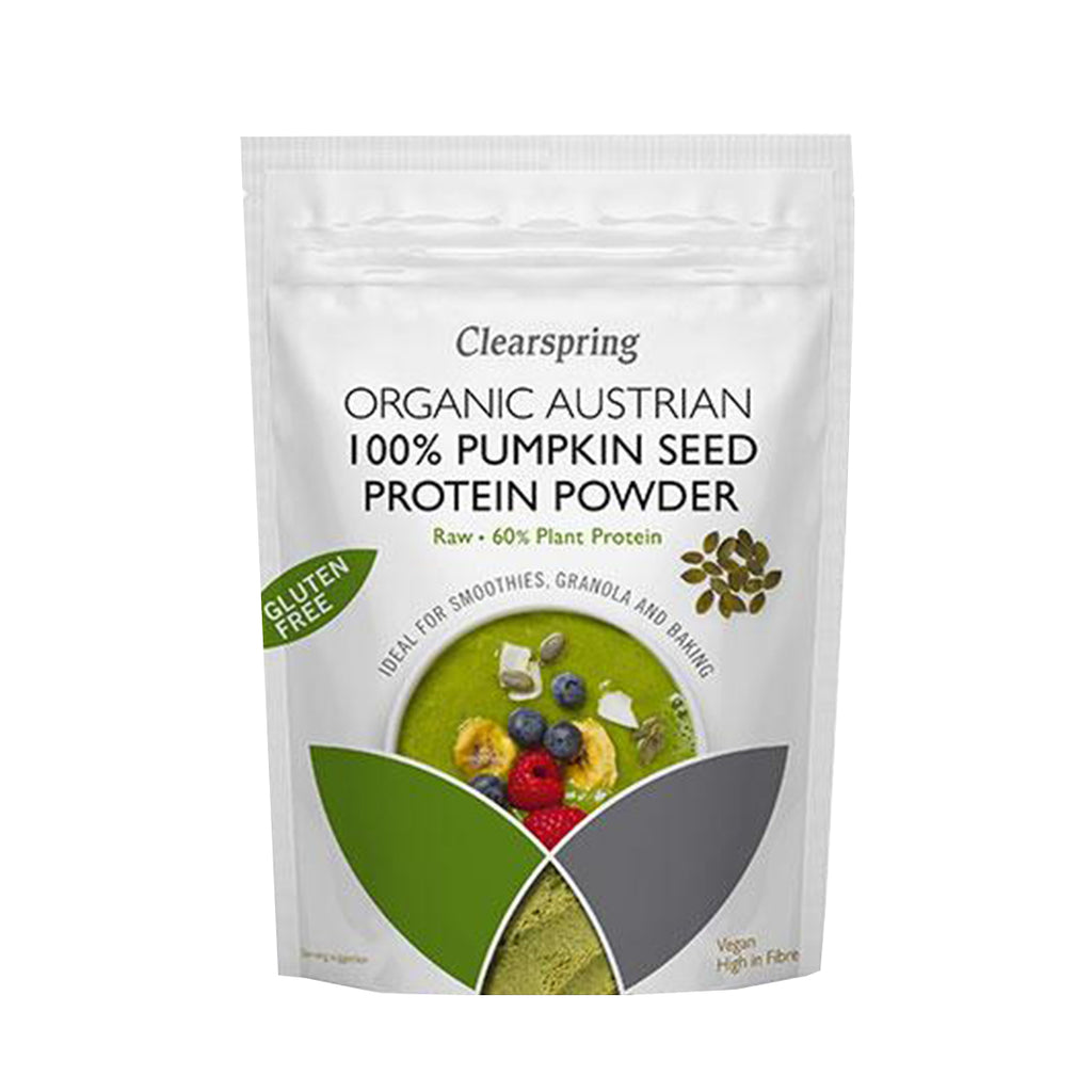 Clearspring Organic 100% Pumpkin Seed Protein Powder