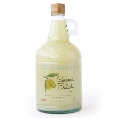 Saboun Baladi Liquid Soap - Mint