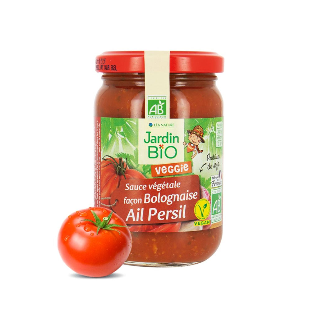 Jardin Bio Tomato Sauce with Soy Protein, Garlic and Parsley (1947120795711)