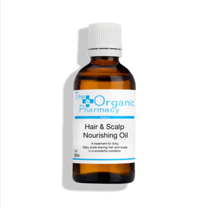 The Organic Pharmacy Organic Hair and Scalp Nourishing Oil