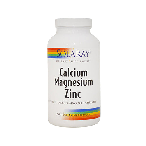Solaray Calcium Magnesium And Zinc Amino Acid Chelates