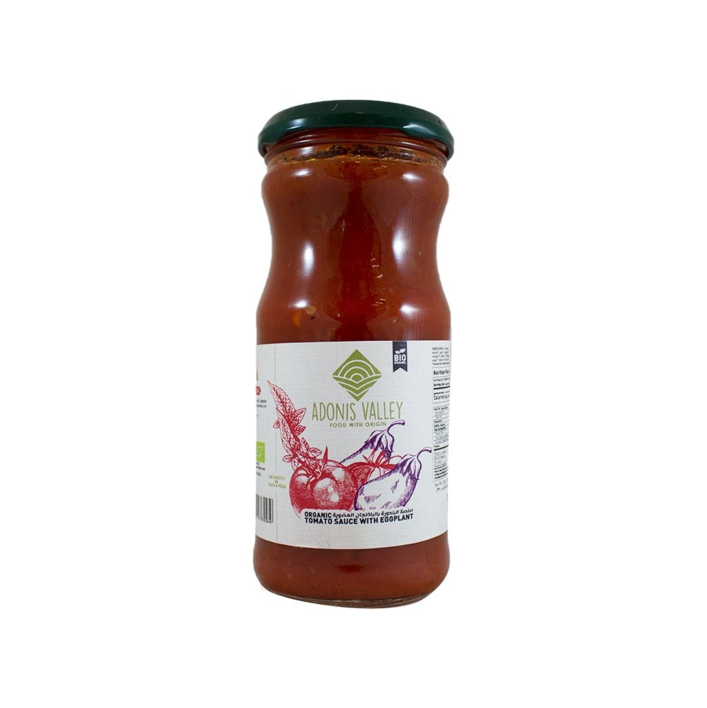 Adonis Valley Organic Tomato Sauce with Eggplant