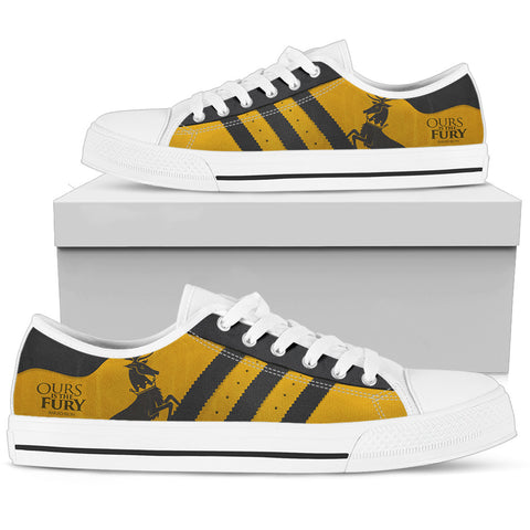 Ours Is The Fury Low Top Canvas Shoes For Women