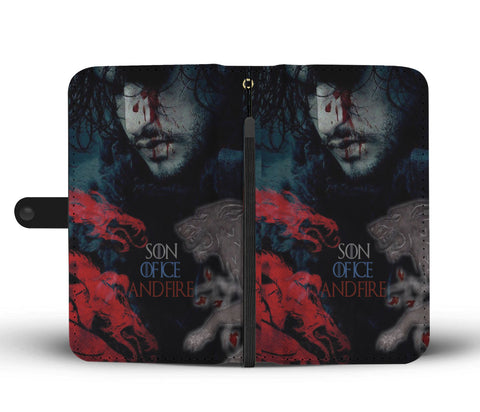 Hand Crafted Son Of Ice And Fire Wallet Case