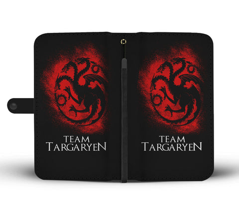 Hand Crafted Team Targaryen Wallet Case