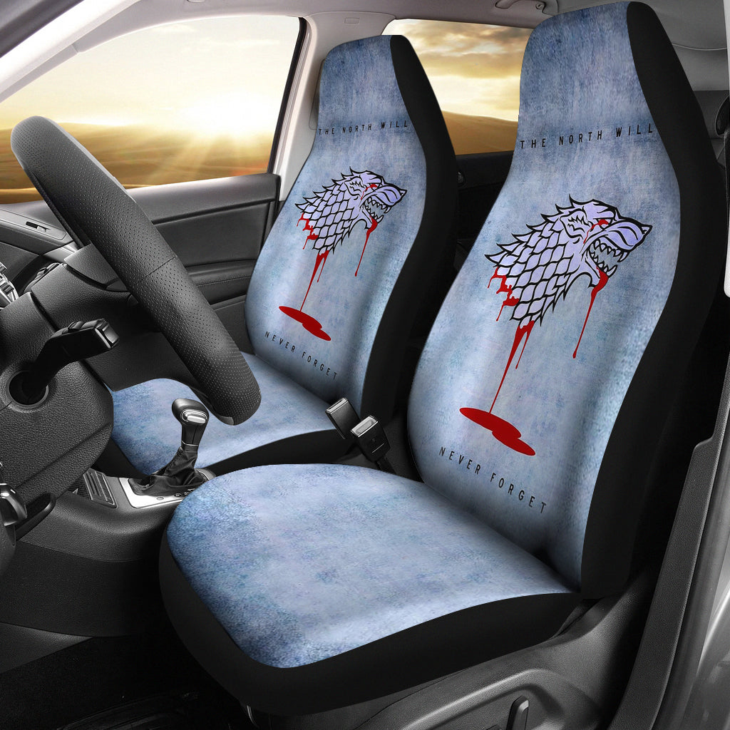 The North Remembers 2 Pcs Car Seat Covers DHL Express Shipping –