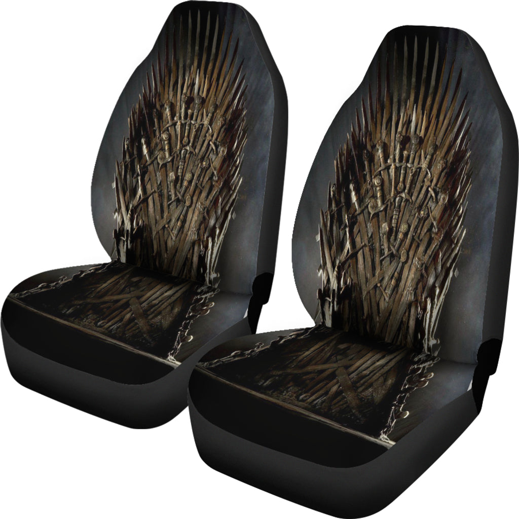 Iron Throne 2 Pcs Car Seat Covers DHL Express Shipping – The Game