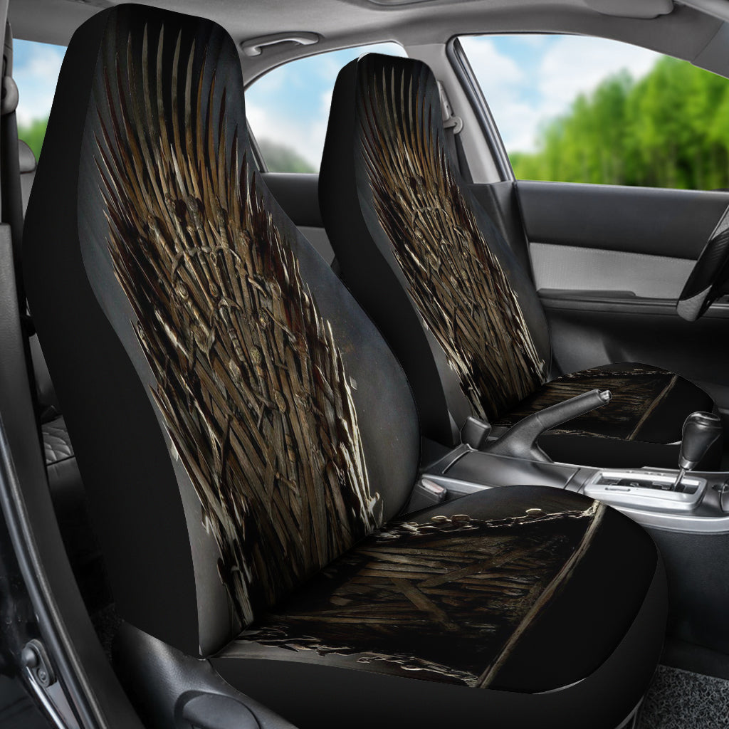 Iron Throne 2 Pcs Car Seat Covers DHL Express Shipping – The Game Of ...