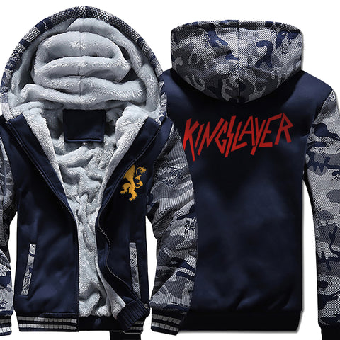 Kingslayer Winter Warm Fleece Thicken Jacket
