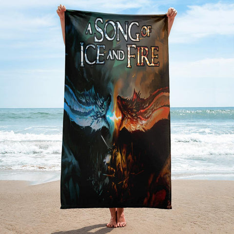 A Song Of Ice And Fire Full Printed Towel