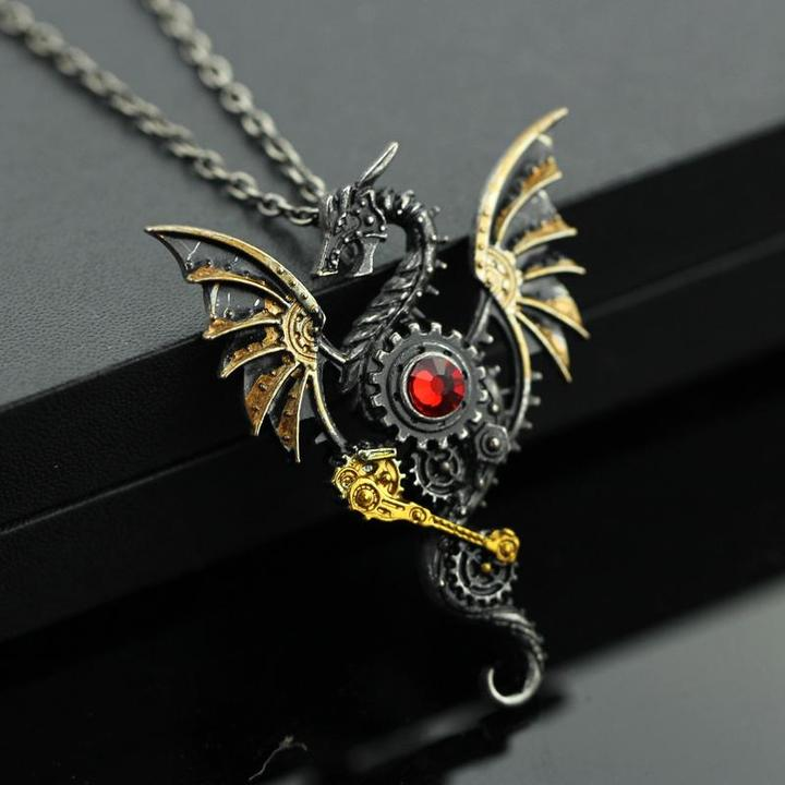 products image owl gear pendant polished steampunk product fashions necklace