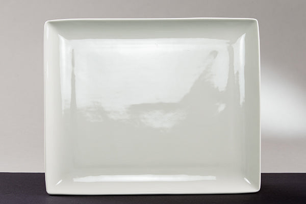 "10"" x 14"" Rectangular Serving Plate (rental price)"
