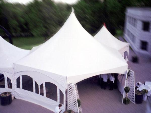 35' x 40' Hexagon with Sides (rental price)