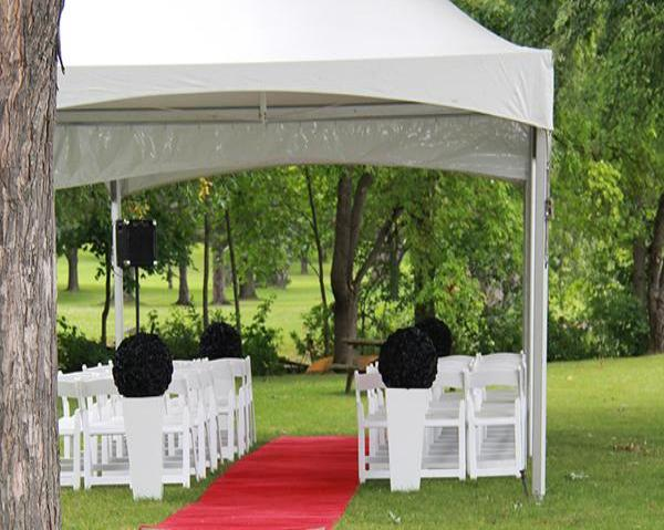 15' x 15' Wedding with Windows  (rental price)