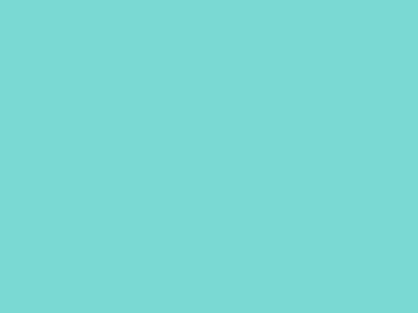 "54"" x 54"" Square Turquoise ""Organza"" Overlay (rental price)"