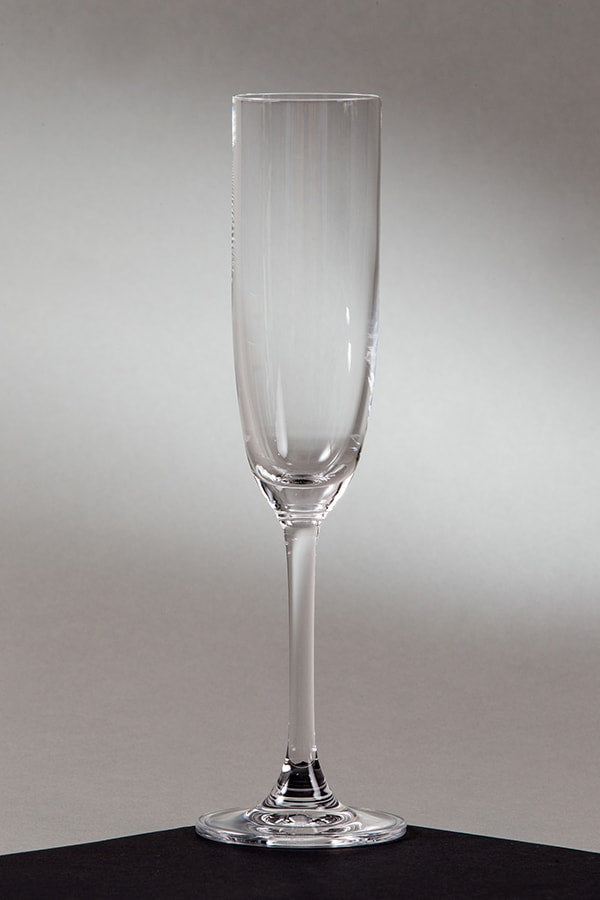 Crystal Champagne Flute 5.75 oz. (rental price)