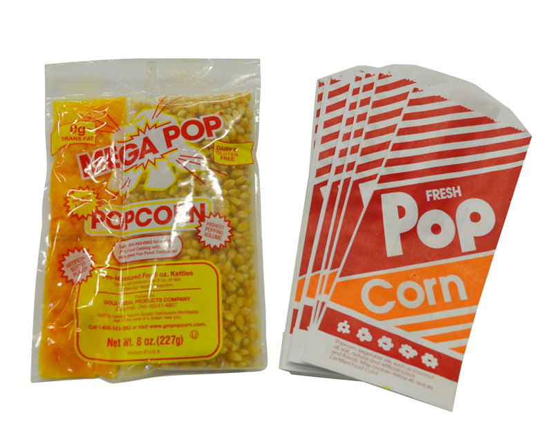 Popcorn & Bags for 50 People (rental price)