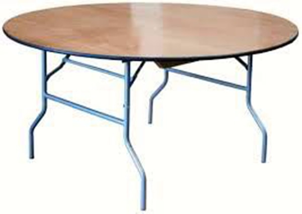 "72"" Round Table (rental price)"