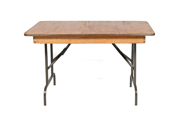"4' x 30"" Table (rental price)"