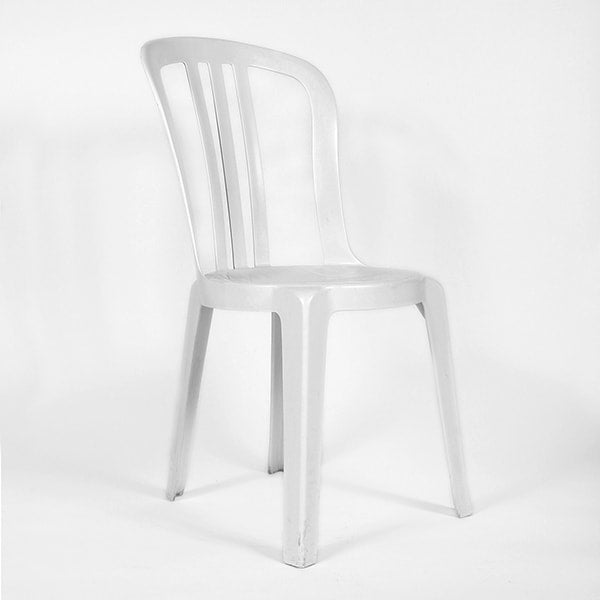 White Bistro Chair (rental price)