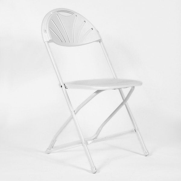 White Folding Chair (rental price)