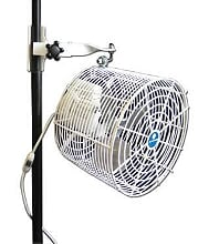 "12"" White Tent Fan (rental price)"