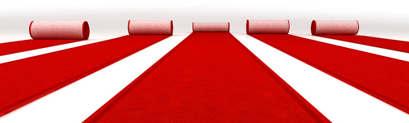 Red Carpet (Per Linear Foot) (rental price)