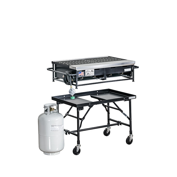 Barbecue 3' with Propane (rental price)
