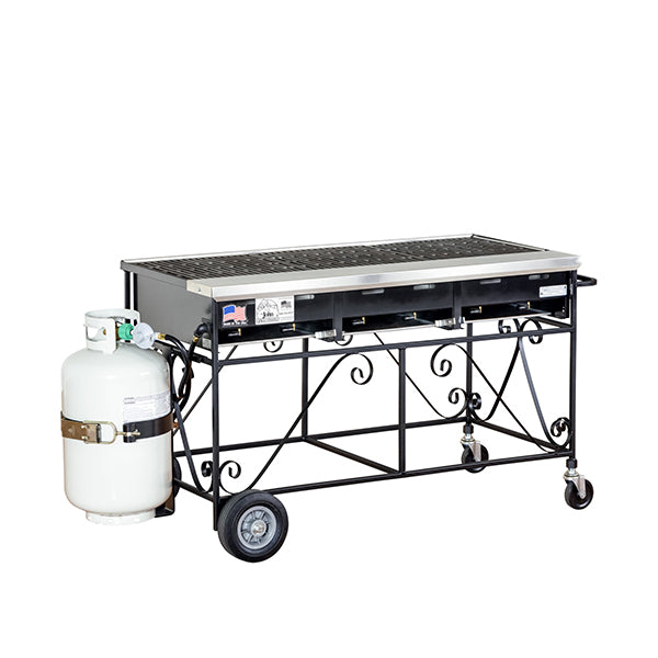 Barbecue 4' with Propane (rental price)