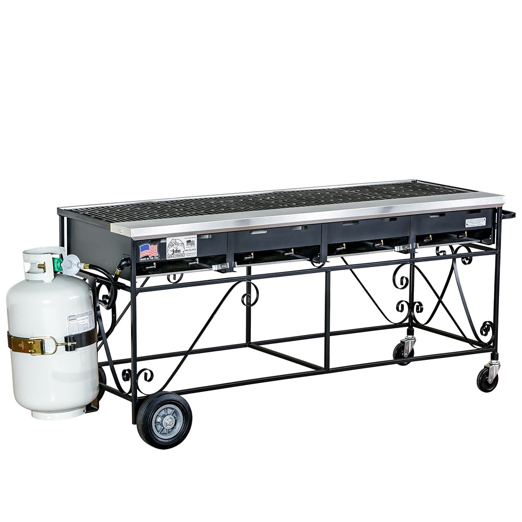 Barbecue 5' with Propane (rental price)