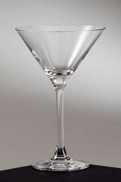 Crystal Martini Glass 9 oz. (rental price)