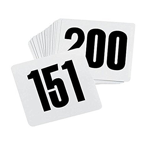 Number Cards 1-50 (rental price)